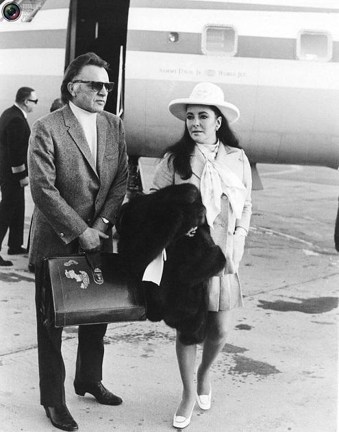 Richard Burton and Elizabthe Taylor