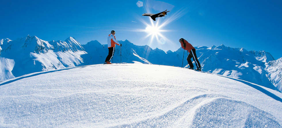 Altitude Slopes up to 3,230m - Val Thorens is the highest ski resort in Europe Resort