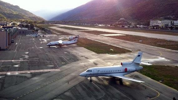 Aeroporto della Valle d'Aosta (Aosta Airport)