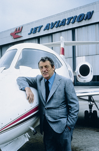 In 1967, Carl W. Hirschmann Sr. founded Jet Aviation with the acquisition of the former Globe Air hangars in Basel, Switzerland.