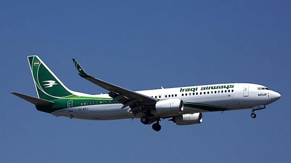 An Iraqi Airways 737-800
