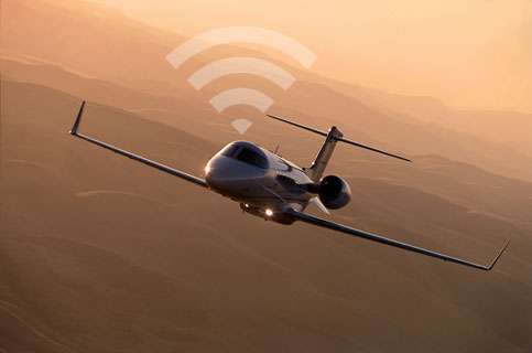 Private jet internet