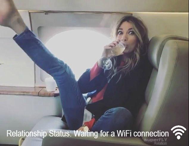 private jet wifi