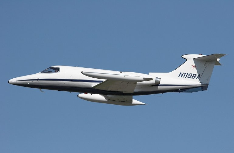 Game changer: World's first ever pure business jet, the  Learjet 23