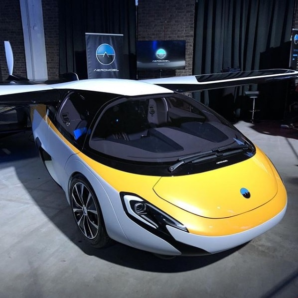 Aeromobil prototype. Orders being taken for the £1.1 Million flying car