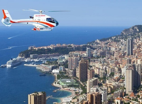 flight time 7 mins - NICE TO MONACO BY HELICOPTER£189 per passenger£179 per passenger (groups of 5)£149 per passenger (groups of 6)