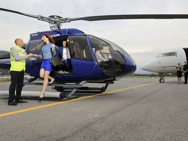 flight time 15 mins - CANNES TO MONACO BY HELICOPTER£220 per passenger£199 per passenge5 (groups of 5)£169 per passenger (groups of 6)