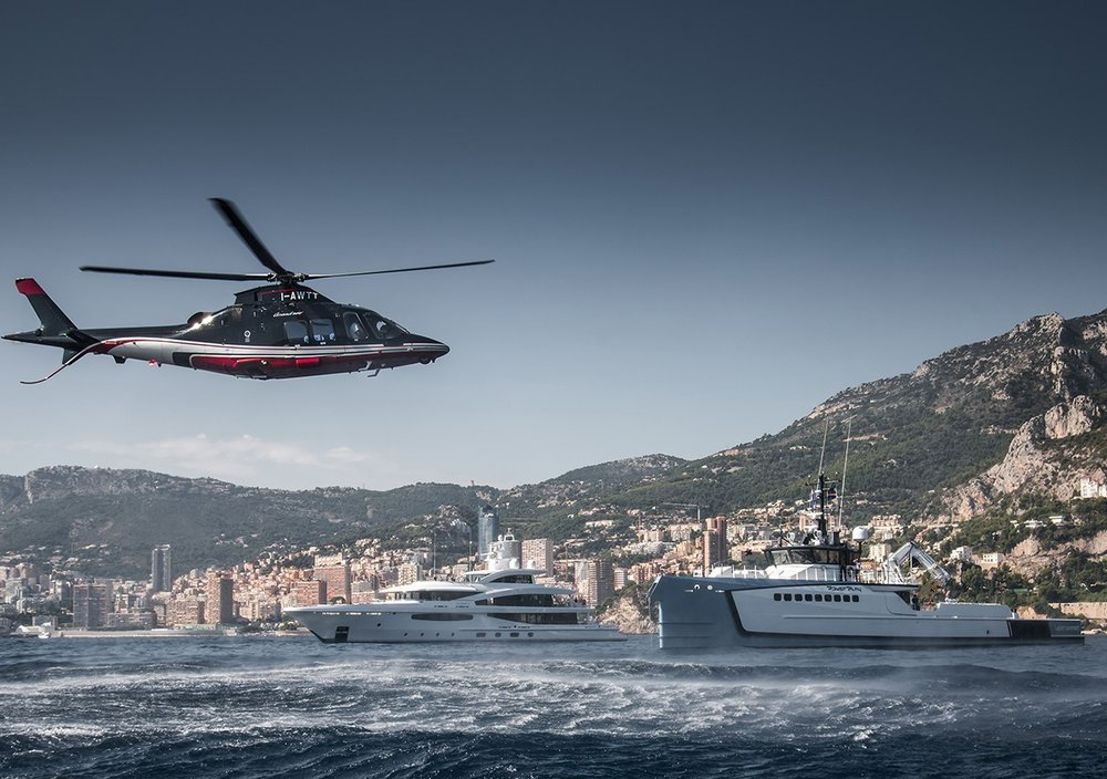 flight time 18 mins - ALBENGA TO MONACO BY HELICOPTER£260 per passenger (groups of 8)