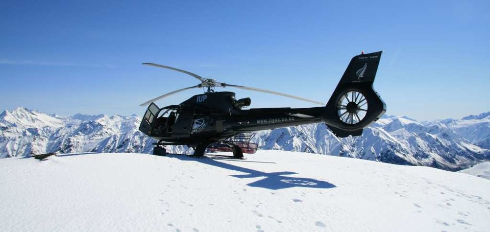 helicopters to ski resorts - SuperFLY