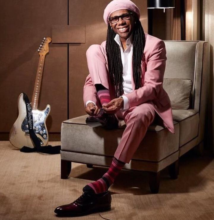NILE RODGERS - The Guardian Newspaper