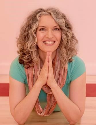Suzan Colón,  yoga teacher, spiritual surfer and author of  Yoga Mind