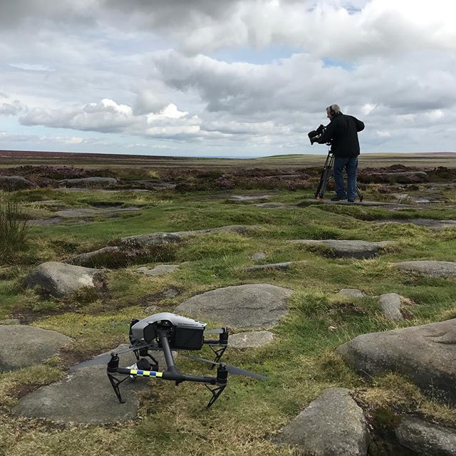 Windy location for today's shoot with the #bbc  #Drone #Drones #Dronestagram #Dronephotograph #uav #droneoftheday  #setlife