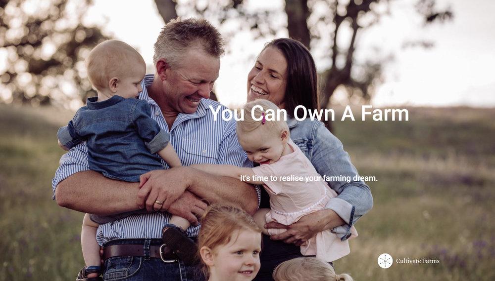 Cultivate Farms partnership