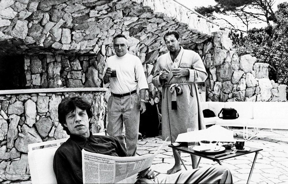"Jean Pigozzi,  Johnny Pigozzi, Cannes film festival, pool party  Pigment print, 16""x20"""