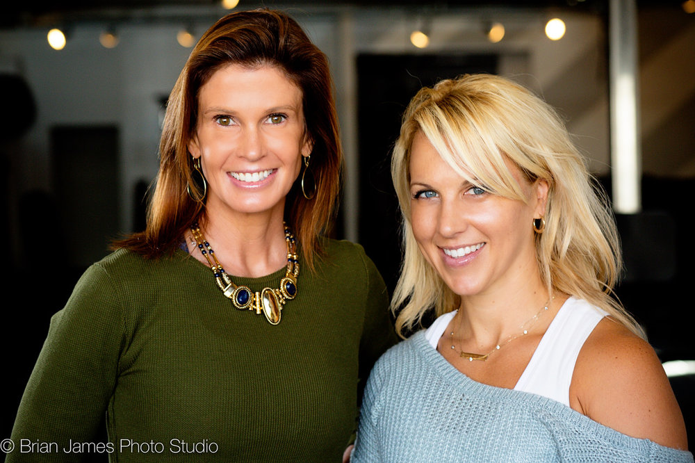 Liz Harris & Amy Carolla, Co-Founders of B Inspired