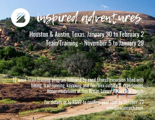 B Inspired_Adventures Team Training & Texas Trip