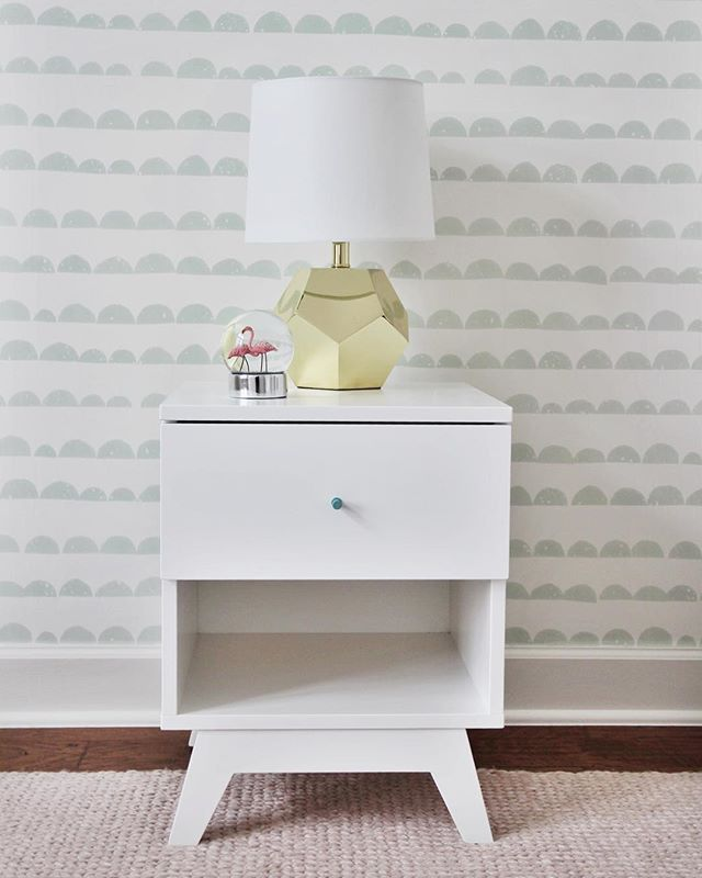 Sneak peek of my favorite little girl's room in the #sweetwatergoesmodern project. The mint details in the @fermliving half moon wallpaper and pale pink rug from @armadilloandco are such a perfect combination for her to grow into! 👧🏻 . . . . . . . . . #interior_and_living #austintx #interiorinspiration #interiorstyle #interiorandhome #interiordesigner #interiorlovers #interiorstylist #interiorforinspo #interiorlovers #holidaydecor #interiorbloggers #interiordesign #interiors #interior #style #interiorstyling #interior_design #stylist #homegoods #designworkshop #hygge #cozydecor #decorate #homedecor #moderndesign #interiorstylist #diningroom #scandidesign #babyroom