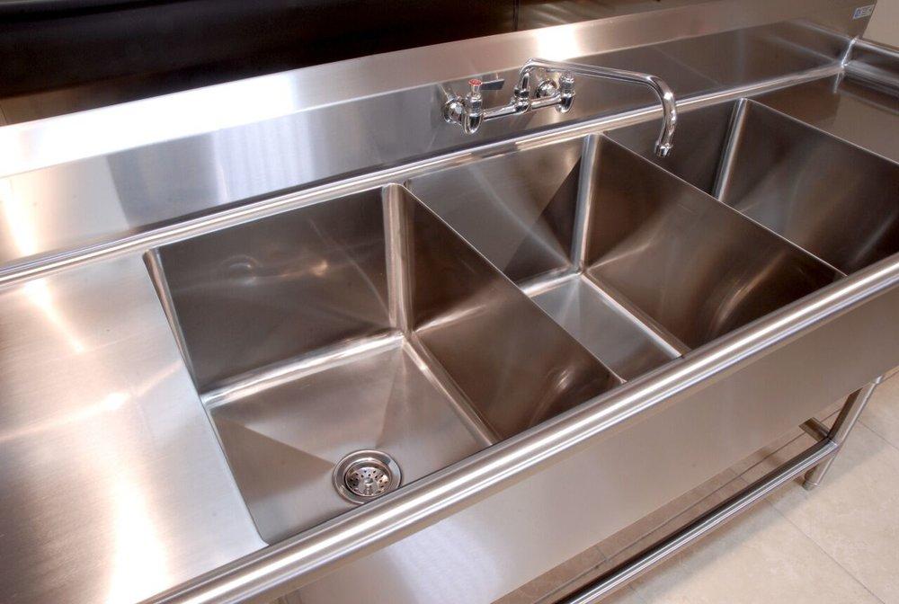 custom stainless steel sink