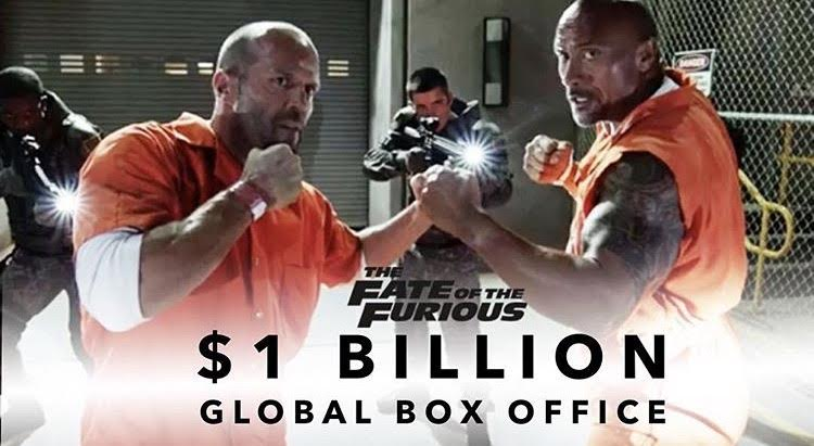 "Congrats to our clients TCollar and DZL on their music contribution to   Fate of The Furious.    Make sure to check out "" Hey Ma "" Co-Produced by TCollar and "" Don't Get Much Better "" Co-Produced by DZL.   Read more about  Fate Of The Furious  passing $1b at Worldwide Box Office  Here ."