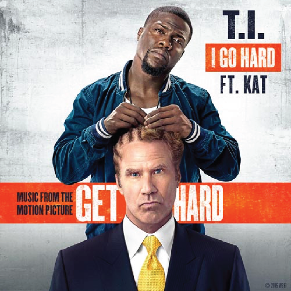 "Kat Nestel landed the End Title of the new Will Ferrell / Kevin Hart movie ""Get Hard."" Kat wrote and performed the hook of the song which features verses by rapper and actor in the film T.I. The song was also co-written by Marcus Lomax and Coffee of the Monsters & Strangerz.  In celebration of the opening of Get Hard, T.I. and Kat have unleashed their anthem ""I Go Hard,"" inspired by the comedy starring Will Ferrell and Kevin Hart. The song can be heard during the film's end credits."