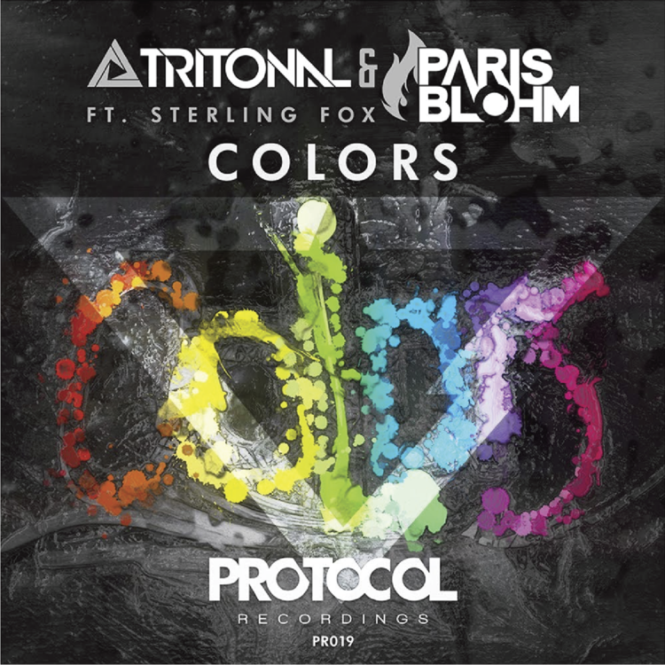 'COLORS' BY TRITONAL & PARIS BLOHM FT. STERLING FOX
