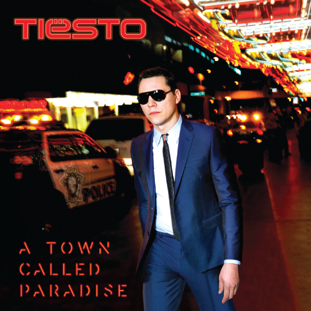 """Footprints"" on the new Tiesto album 'A Town Called Paradise' was co-written by Sterling Fox."