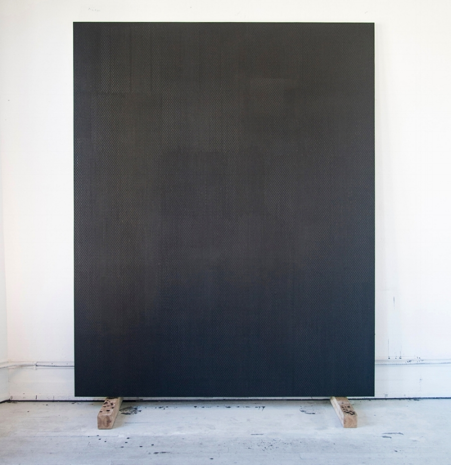 Nicole, the Elegy,  oil graphite paster on panel, 96 x 77 inches, 2015/2016