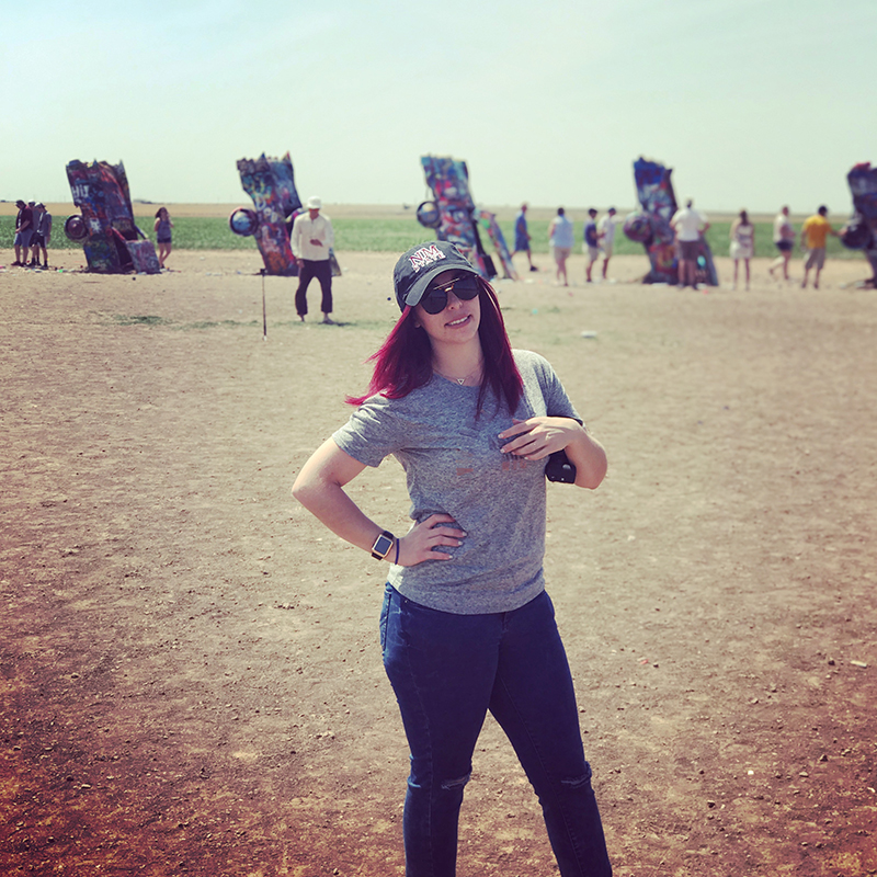 My FIRST time in Amarillo, had to see the Cadillac Ranch!