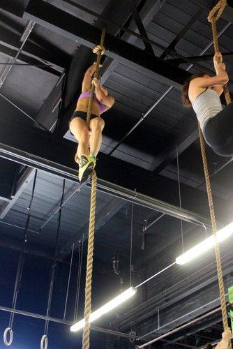 Julie on Rope