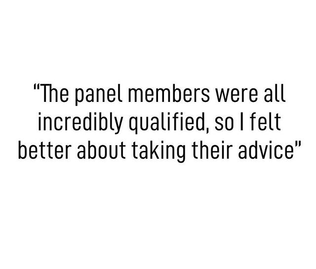 Our panel members ARE incredibly qualified. That's how we roll. . . . #strongprocess #wellnessexplained #boston #wellness #science #conference #weekend #saturday #health #experts