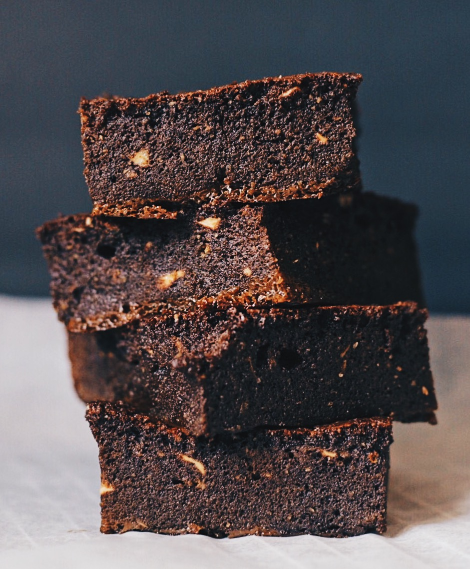 almond flour protein chocolate cocoa brownies