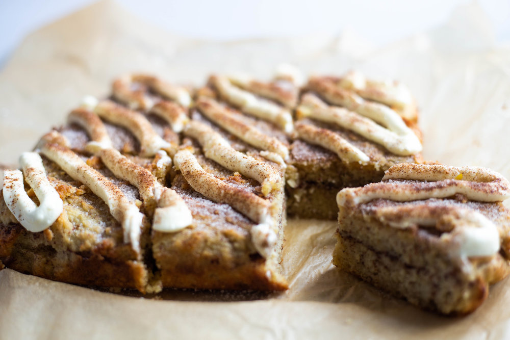 Low Carb Cinnamon Roll Coffee Cake Keto Paleo Vegan