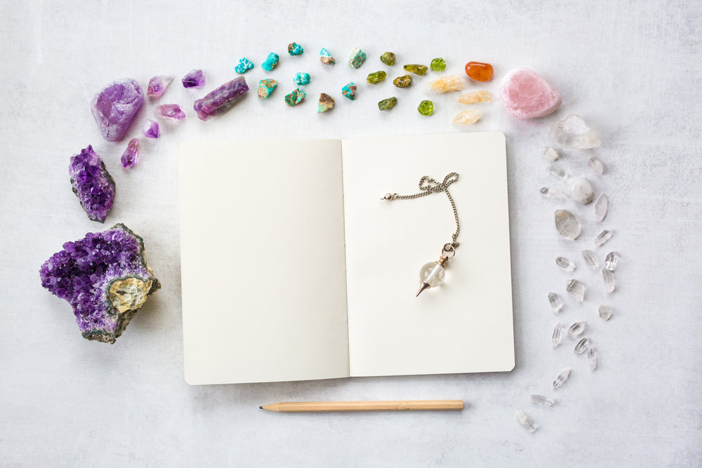 crystals-journaling
