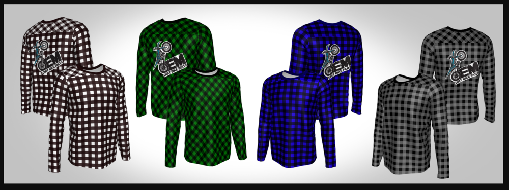 Custom Dyed Long-Sleeve Shirt
