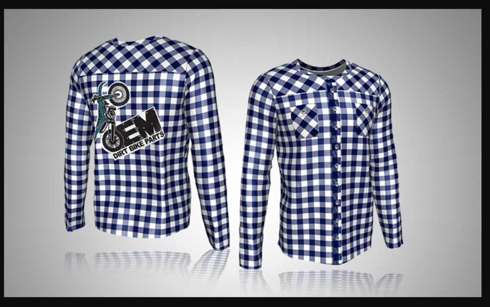 Custom Long-Sleeve Sublimated Shirt