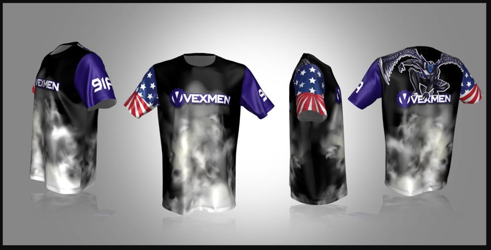 Custom Vex Robotics Jersey