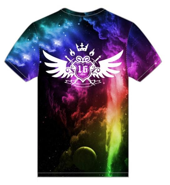 e3ba4268f Custom Sublimation T-Shirts and Long-sleeve T-Shirts
