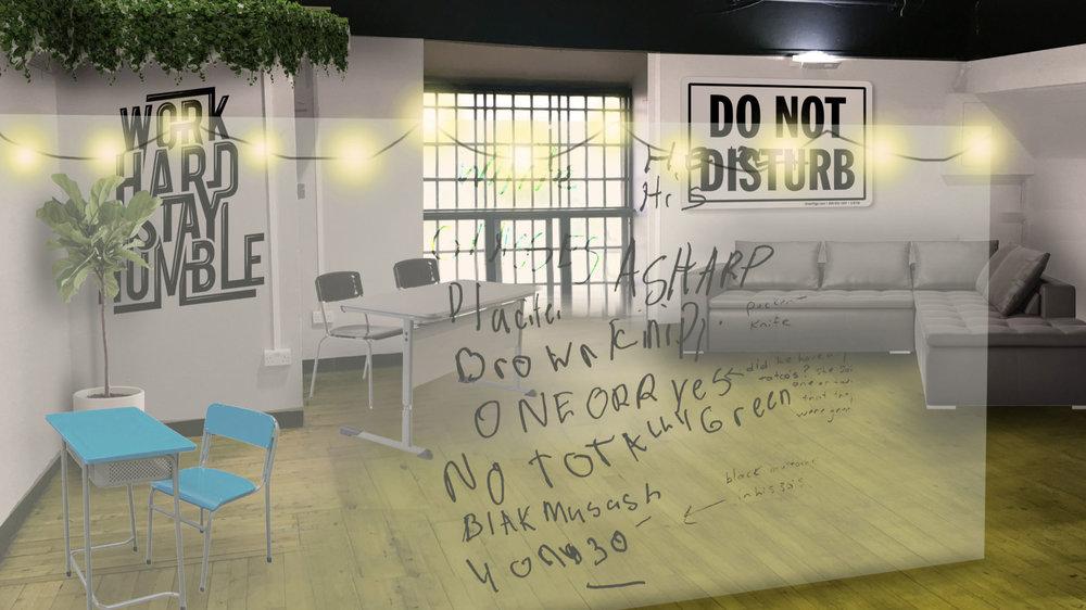 Do not disturb area