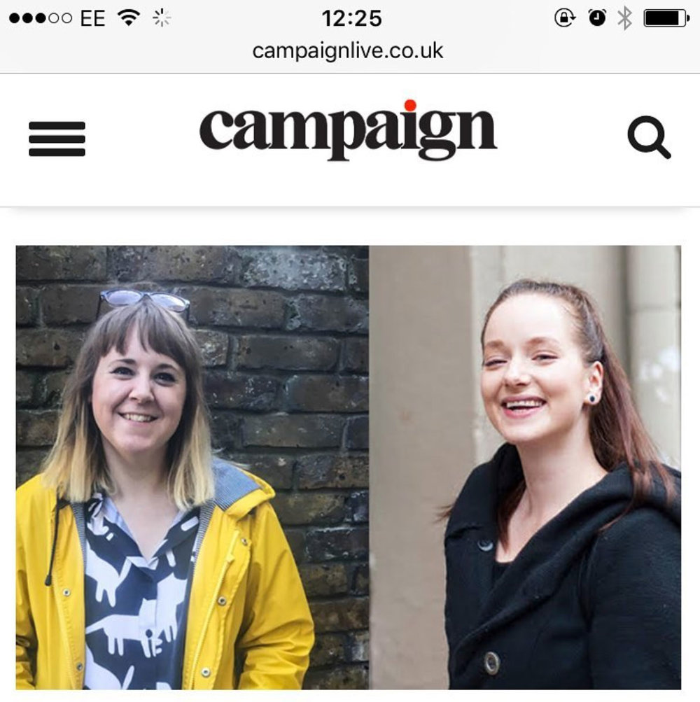 campaign magazine advertising