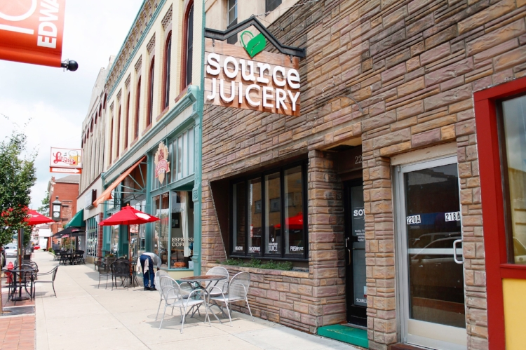 Source Juicery Exterior