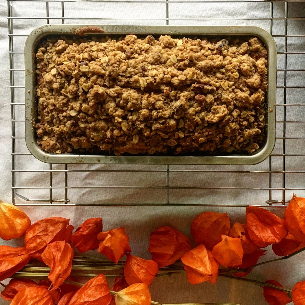 Chinese Five Spice Pumpkin Bread With Brown Sugar Pecan