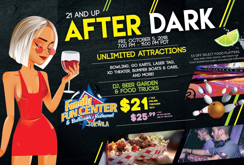 After Dark III (21 & Over) — Seattle Scene