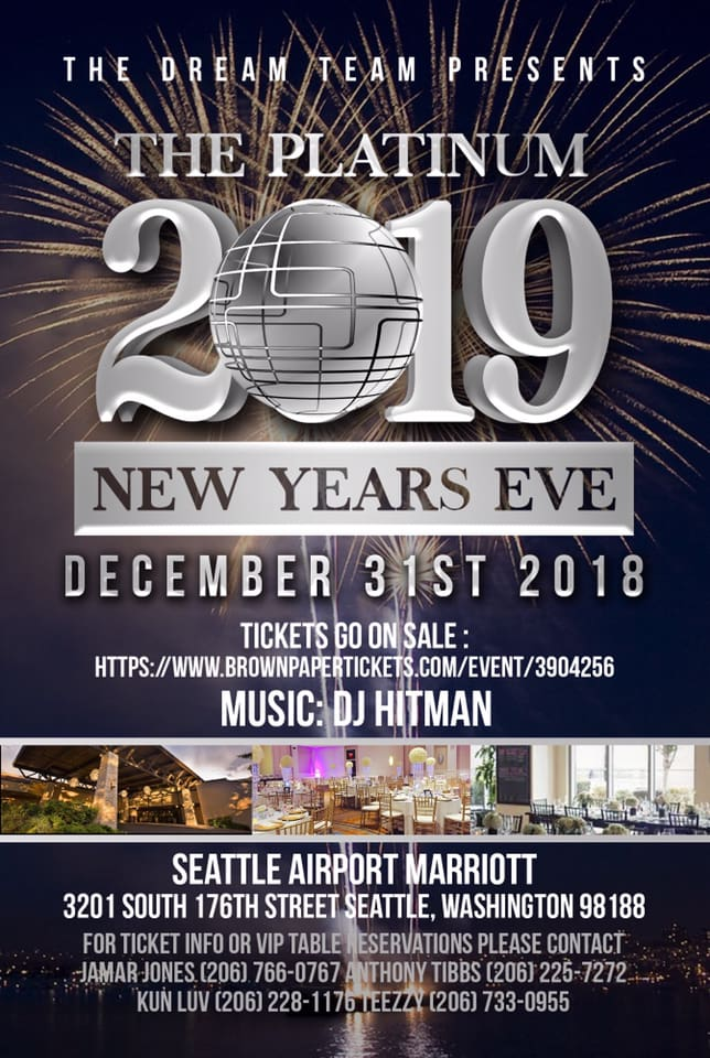 The Platinum New Years Eve Bash