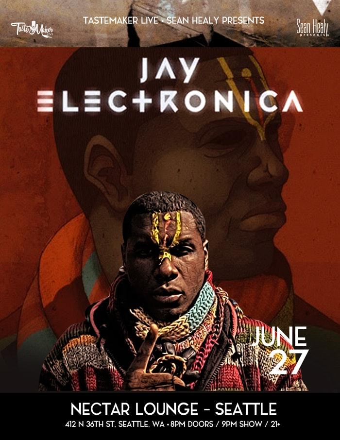 Jay Electronica at Nectar Lounge — Seattle Scene