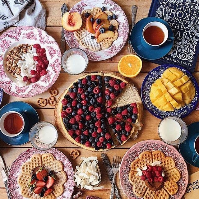 Breakfast goals! Via @h.rebel