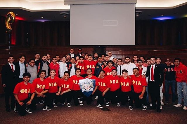 Congratulations to the Founding Line from the University of Oklahoma Colony! #Phiotas #SPSJ