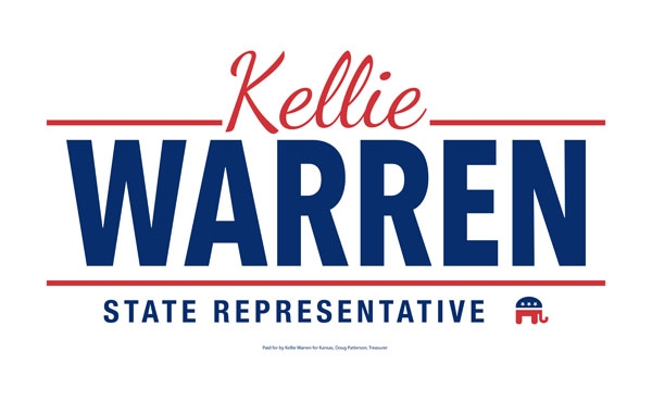 Kellie Warren for Kansas