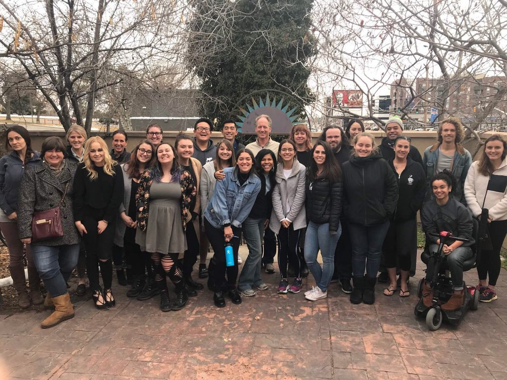 January 2018 Rape Crisis Counselor Training Class at the Rape Recovery Center.