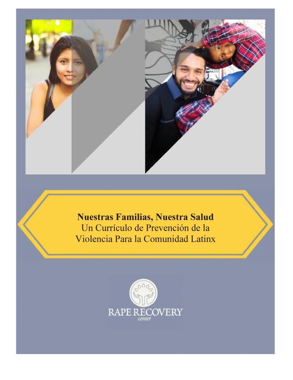 "Click to open ""Nuestras Familias, Nuestra Salud"" curriculum in Spanish."