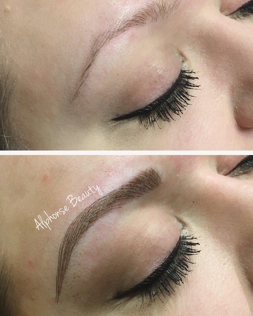 Permanent Makeup Eyebrow Microblading at Alphonse Beauty
